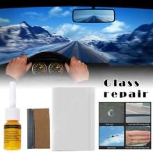 Kit de reparación de cristal de parabrisas de coche, conjunto de resina, accesorios y herramientas de reparación