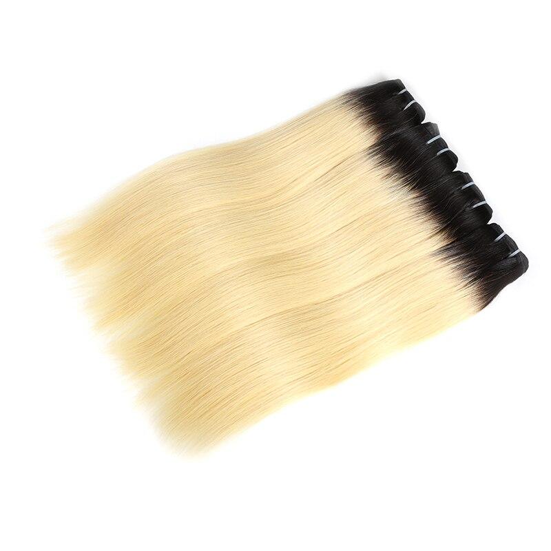 virgem feixes de cabelo humano loira 613