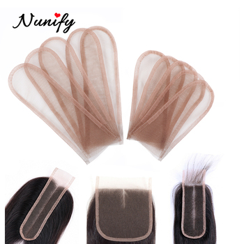 Nunify 2*4 2*6 4*4 1 Pcs Swiss Lace For Wig Making Weaving Wigs Front Hair Net Toupee Frontal Closure - discount item  35% OFF Hair Tools & Accessories