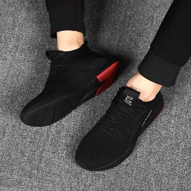 Gorąca sprzedaż lato lekkie buty sportowe moda znane Lace-up w stylu męskie buty wygodne na co dzień styl mężczyźni obuwie sportowe