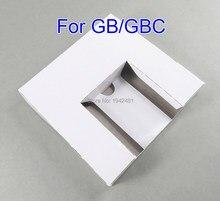 Bandeja de inserción interna de cartón de repuesto para GB, para Cartucho de juego GBC, versión US, JP, 10 Uds.