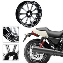 Motorcycle 18 x 5.5 Rear Wheel Rim For Harley Touring Models Road King Electra Street Glide FLTR FLHT FLHR FLHX Non ABS 09-17 front batwing upper fairing cowling shell for harley davidson touring models flhr flht flhx road king electra street glide new