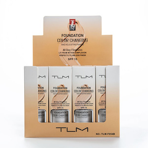 TLM Foundation Profesional Colour Changing Face Makeup Long Lasting Makeup Gift Skin Care Foundation(China)