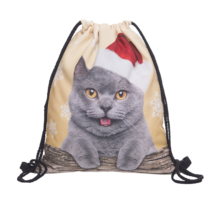 Backpack Drawstring BAGS Drawstring Fashion 3D Printing  Travel Softback Men Bags Unisex Women's Shoulder Bag Knapsack Bpa38383
