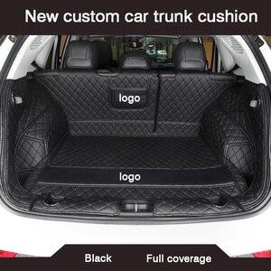 Image 1 - HLFNTF New custom car trunk cushion for suzuki grand vitara 2008 swift jimny sx4 car accessories waterproof carpet rugs