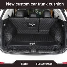 Hlfntf 스즈키 그랜드 vitara 2008 스위프트 지미 sx4 자동차 액세서리 방수 카펫 러그에 대한 새로운 사용자 정의 자동차 트렁크 쿠션