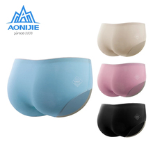 Sport-Performance Boxer AONIJIE Women's Shorts Underwear Fitness Quick-Dry Briefs Modal