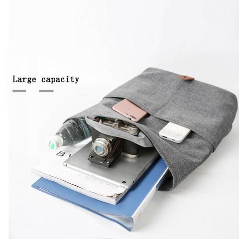 Men Bag Casual Grey Lightweight Oxford 9.7 iPad Tablet Crossbody Bag Male Small Messenger Bag Fashion Bagpack Karachi