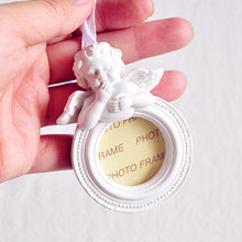 Pendentif français rétro ange cupidon amour ange cadre Photo décoration cadeau