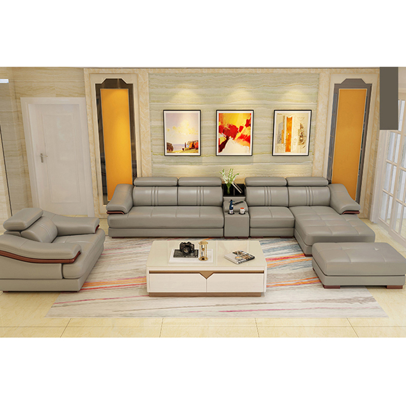 buy online first class american design sectional grey ...