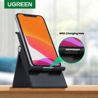 UGREEN-Soporte de escritorio para teléfono móvil, base ajustable y plegable para iPhone 11 Pro Max SE 8 7
