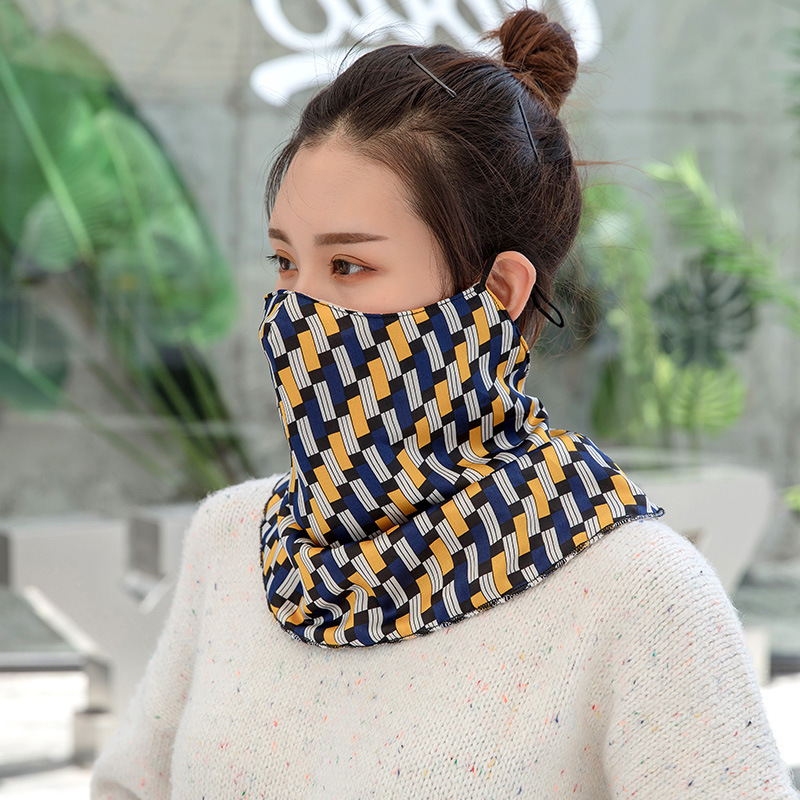 Lovely Cute Lady Mouth Face Mask Winter New Warm Mask Riding Mask Outdoor Sports Waterproof Coating Cycling Mask Windproof