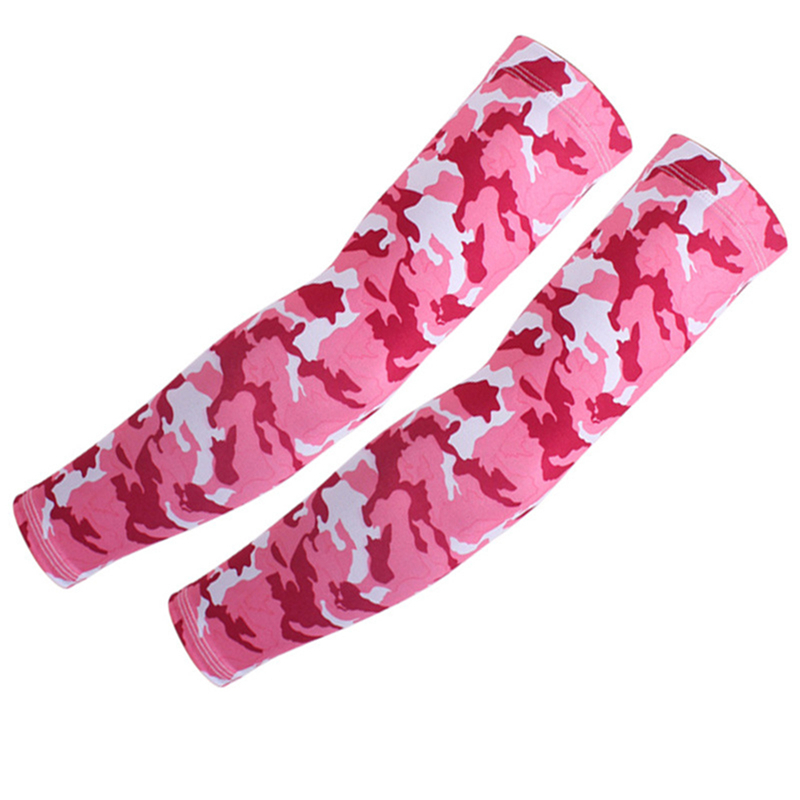 2019 New Fashion 2Pieces/1pair Sweet Arm Sleeves Sun UV Protection Cover Outdoor Camping Golf Cycling Bike Sports Guards Arm Set