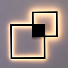 Zerouno Wall Lamps indoor TV background light led wall lighting Minimalist art decor sconces Home Decoration wall lampada luz