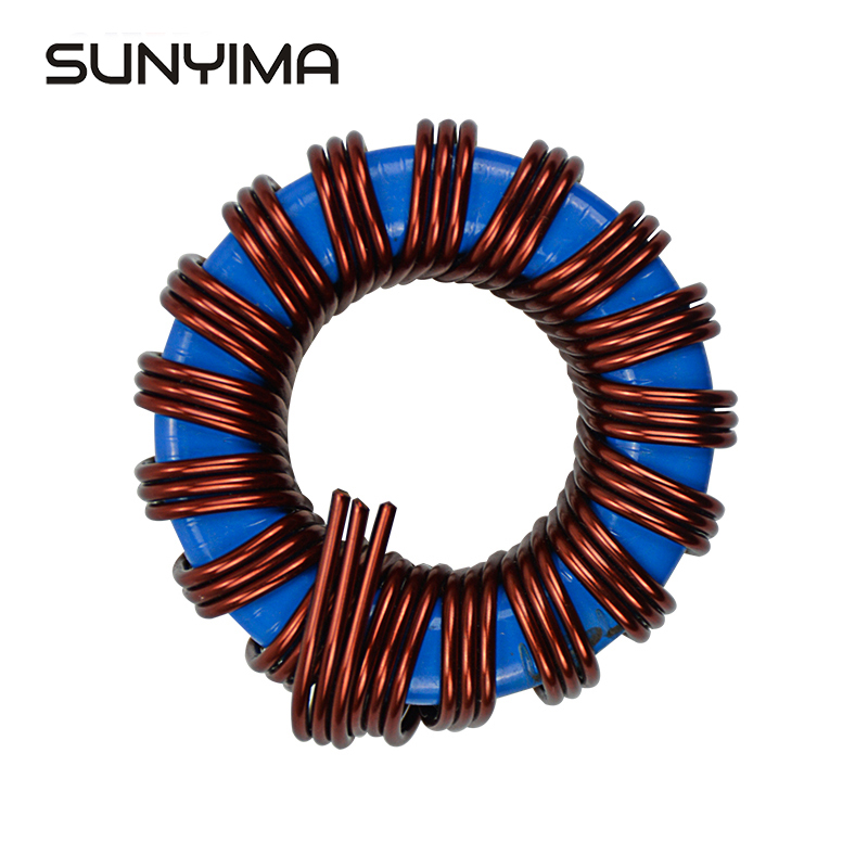 SUNYIMA 1pc inductance haute puissance 45uh 80A fer silicium aluminium inductance pour fréquence onduleur à onde sinusoïdale 1000 2000W-in Inductances from Bricolage on AliExpress