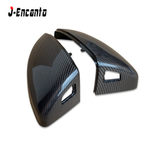 R8 TOP Quality PU Protect Carbon Mirror Caps 1:1 Replacement OEM Fitment Side Mirror Cover for Audi R8 MK3 / TT MK2 2015 2016 oem pulley r8 b3101 for duplo duplicator