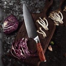 Cuchillo de cocina japonés afilado Damasco de acero para el hogar estilo occidental cortador de verduras chef de cocina paulina cocina paulina cocina en 30 minutos