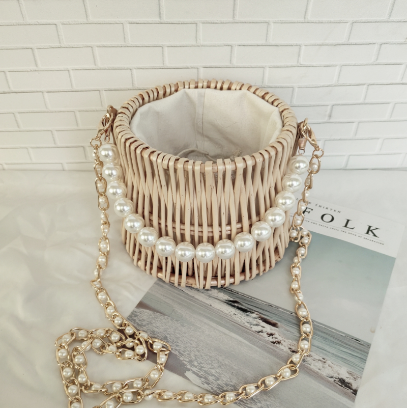Bolsa Pearl Rattan