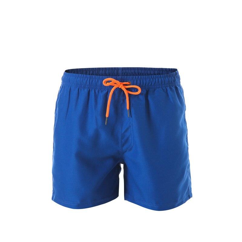 Beach   Board     Shorts   Men Breathable Sport Swimming   Shorts   Solid Printing Color Elastic Waist Beach   Shorts   Summer Swim   Shorts