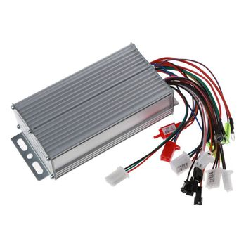 36V-48V 500W 12Pipe Wire Brushless Motor Controller for Electric Bike Tricycle Bicycle E-bike Scooter Dual Mode Sensor image