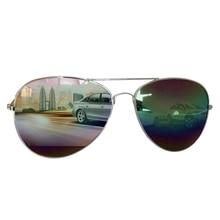 Алюминиево-магниевые очки ночного видения для водителей, поляризованные солнцезащитные очки с защитой от ультрафиолета