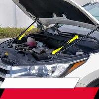 Per Toyota Highlander 2014-2019 Car Bonnet Hood Supporto Asta Idraulica Barra sostegno Ascensore Ammortizzatore a Molla Staffa Car Styling