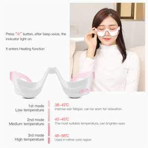Image 4 - Electric Eye Massager Vibration Eye Massage Tool  Eyes Fatigue Relief Wireless Relaxation Warm Hot Compress USB Rechargeable 45
