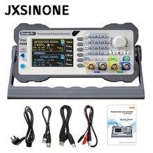 Psg9080 programável dds gerador de sinal duplo canal arbitrária forma de onda função gerador medidor freqüência 300msa/s contador