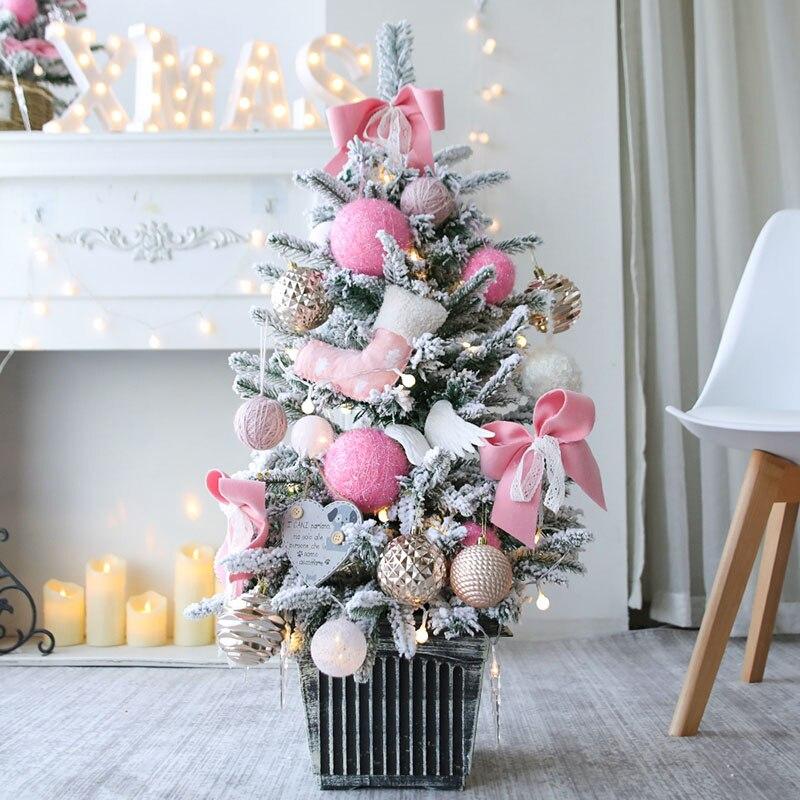 Рождественская елка, праздничный подарок, украшение рождественской елки, комбинированное украшение для торгового центра, рождественские украшения - 6