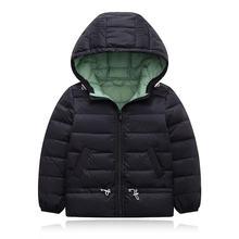 2020 куртка с капюшоном Детская пуховик зимняя теплая одежда