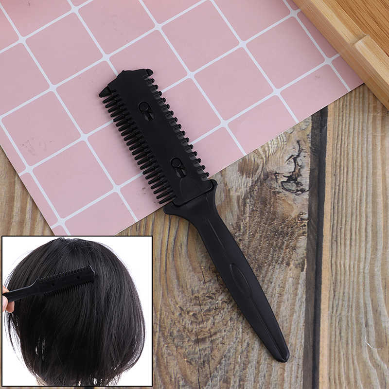 Hot Hairdressing Pemangkas Rambut Mencukur Blades Cutting Menipis Pro Pemangkas Rambut Rambut Sisir Gunting Cukur Alat Sikat Kecantikan Styling