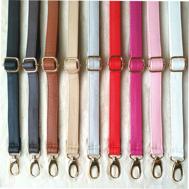 New 130cm Long PU Leather Shoulder Bag Strap O Bag Handles DIY Replacement Purse Handle For Handbag Belts Strap Bag Accessories