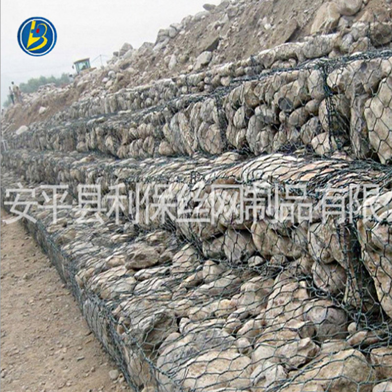 Manufacturers Direct Selling Hot-dip Galvanized Iron Wire Gabion Wholesale River Gabion Tabby Weaving Gabion