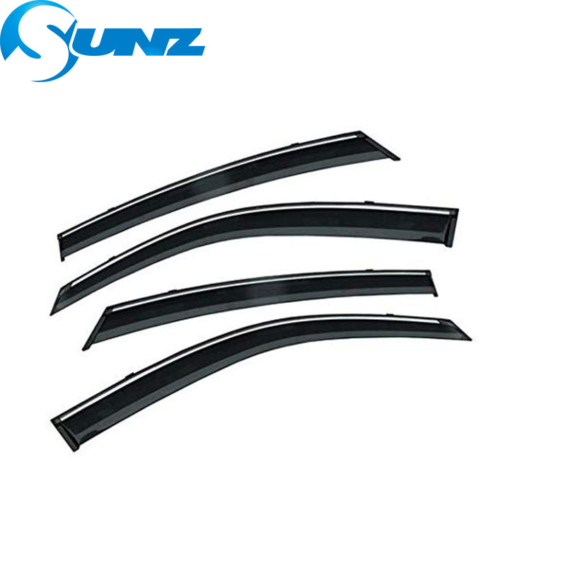 Image 2 - Side window deflectors For Mazda 6 ATENZA 2014 2015 2016 2017 2018 Door visor protector rain guard accessories Car Styling SUNZ-in Awnings & Shelters from Automobiles & Motorcycles