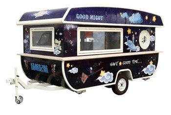 2019 новый дизайн грузовик для кофе еды мобильный пищевой киоск хот-дог фургон для перевозки пищевых продуктов на продажу
