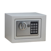 17E Mini Household Security Box Office Security Cabinet All Steel Electronic Hotel Security Cabinet Security Cabinet