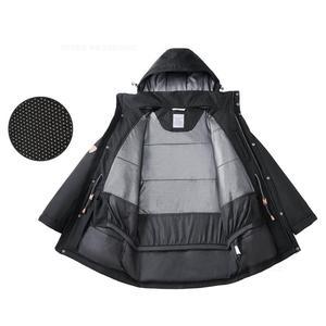 Image 5 - 2020 Youpin DMN Aerogel Anti cold Down Coat For  196 ℃ Severe Cold Liquid Nitrogen Spray Thermostat Men Winter Aerogel Cold Suit