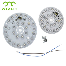 2835 LED Lamp Panel 12W 220V Dimmable Integrated Light Board Stairway Balcony Lamp Panel LED Light Replace