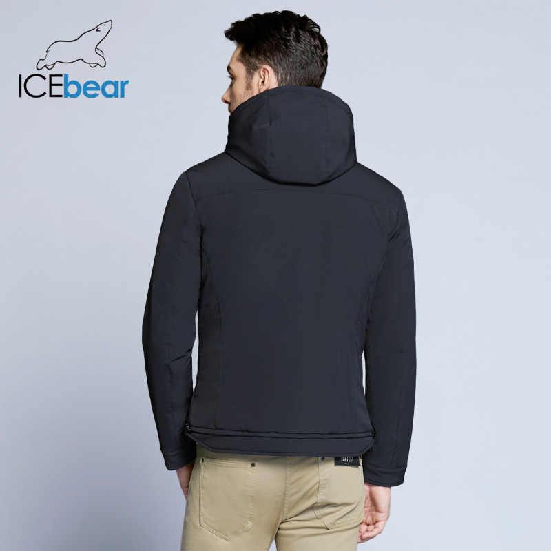 ICEbear 2020 neue frühjahr männer jacke hohe-qualität mann lässig mantel padded lose männer der marke jacken MWC18099D