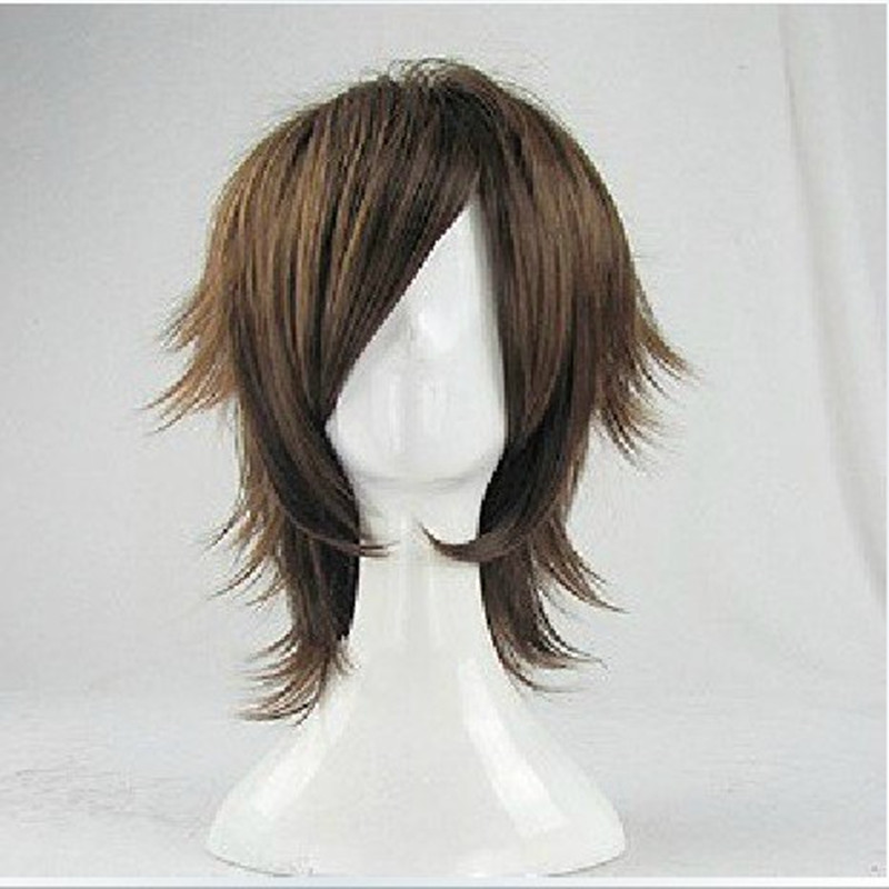 HAIRJOY  Synthetic Hair Wigs Short Curly Layered Cosplay Wig  4 Colors Available 19