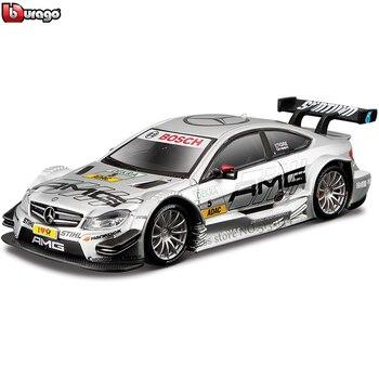 цена на Bburago 1:32 Mercedes BENZ AMG NO5 WRC Rally Racing Alloy Model Car model Collecting gifts
