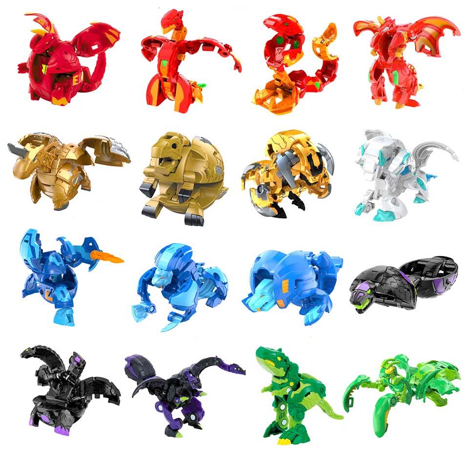 Детская игрушка BAKUGANES burst из металлического сплава, мяч монстра, гироскоп beyblade burst, деформация животного, мгновенная деформация
