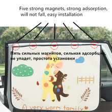 Accessoires Auto Car Curtain Parasole Auto Coche Curtains Car Styling Rear Side Window Sunshade Protect Window Curtains