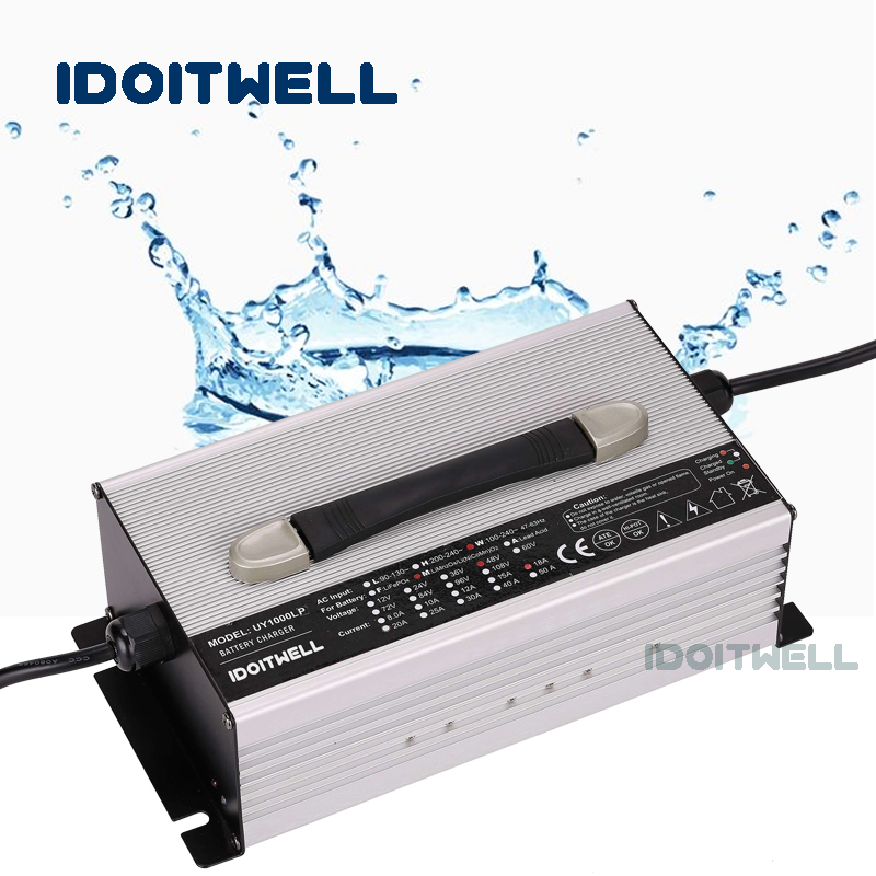 Waterproof <font><b>12V</b></font> <font><b>lifepo4</b></font> battery charger <font><b>12V</b></font> 40A outdoor fast Automatic charger for <font><b>12V</b></font> 100ah 120ah <font><b>150ah</b></font> <font><b>lifepo4</b></font> battery pack image