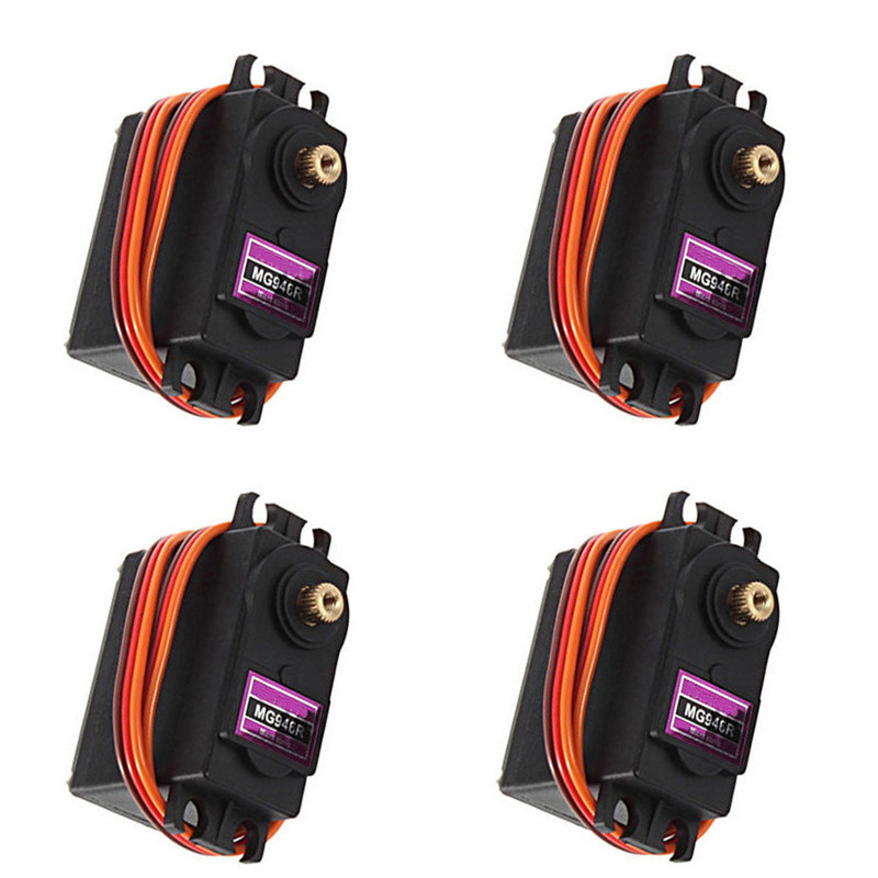 MG946R Servo 13kg  High Torque Metal Gear Servo For RC Car HSP HPI Wltoys Kyosho TRAXXAS 1/8 1/10 Airplane Helicoter