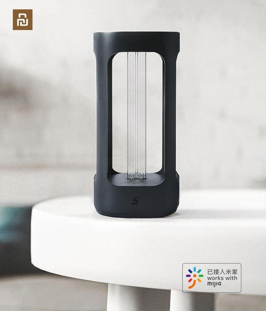 FIVE Smart UVC Disinfection Lamp Human Body Induction UV Sterializer From Youpin For Mijia App Control