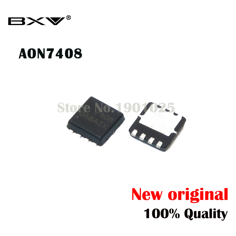 20pcs AON7408 AO7408 7408  QFN-8 MOSFET New Original