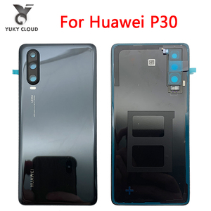 Original huawei P30 Battery Cover For P30/P30pro Replace the battery cover With camera cover P30