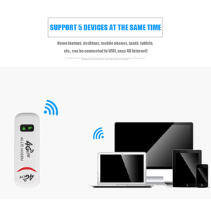 Image 4 - 4G/3G Portable 100Mbps USB Wifi Router Repeater Wireless Signal Extender Booster Supporting Multi Band FDD LTE B1 B3 B7 B8 B20