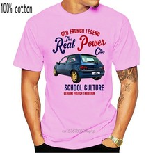 Men T shirt Vintage French Car Renault Williams Clio 1 - New Cotton funny t-shirt novelty tshirt women